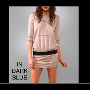 LaRok Luxe glamour hooded dress